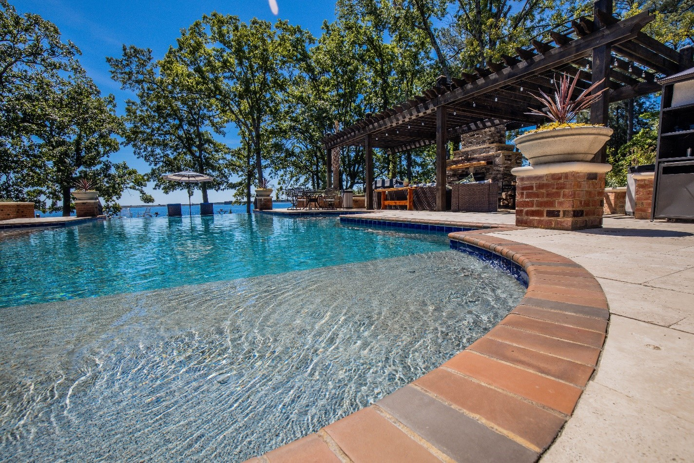 Pool Designs, Custom Pool, Inground Pools, Spas, Swimming Pools, The Clearwater Company, Columbia, SC