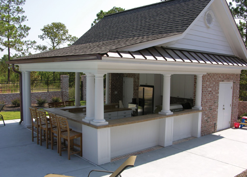 Pool-House, Custom Pool, Inground Pools, Spas, Swimming Pools, The Clearwater Company, Columbia, SC