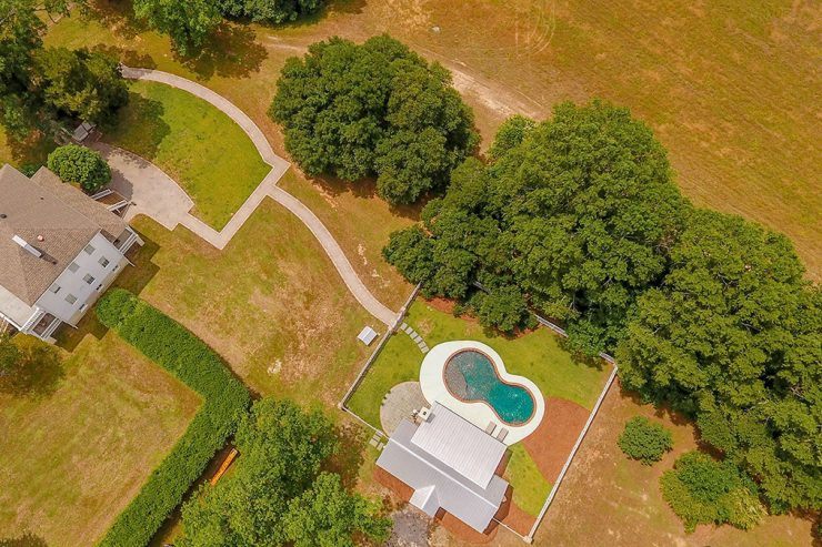 Figure 8 Backyard Pool, Custom Pool, Inground Pools, Spas, Swimming Pools, The Clearwater Company, Columbia, SC