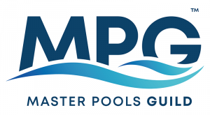 Master Pools Guild Logo, Custom Pool, Inground Pools, Spas, Swimming Pools, The Clearwater Company, Columbia, SC