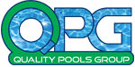 Quality Pools Group logo, Custom Pool, Inground Pools, Spas, Swimming Pools, The Clearwater Company, Columbia, SC