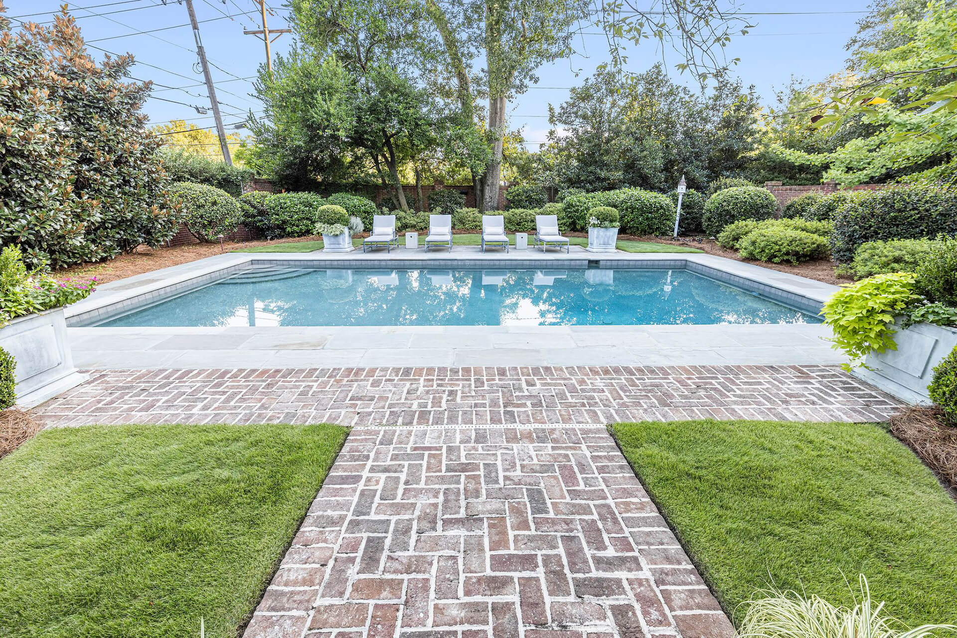 Rectangle Pool in Historic Heathwood, Pool Design, Spas, The Clearwater Company, Columbia SC